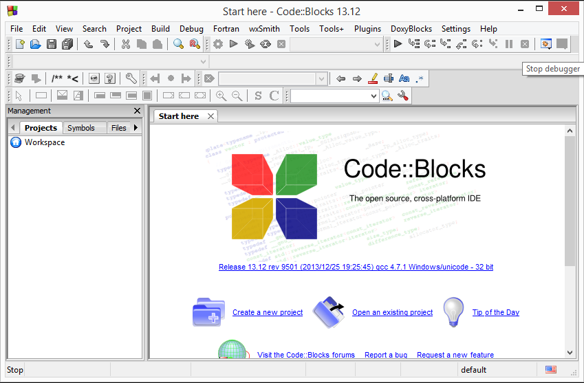 Code Blocks IDE