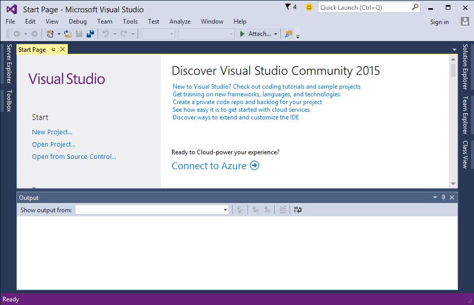 Visual Studio Community 2015